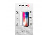Folie Protectie Ecran Swissten pentru Samsung Galaxy A21s A217, Sticla securizata, Full Glue, 0.3mm, 2.5D, 9H