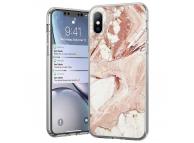 Husa TPU WZK Marble MP pentru Samsung Galaxy A32 LTE A325, Roz