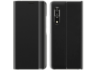 Husa Textil OEM Sleep Case pentru Samsung Galaxy A32 LTE A325, Neagra