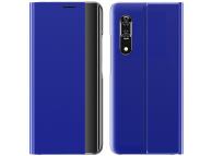 Husa Textil OEM Sleep Case pentru Samsung Galaxy A32 5G A326, Albastra