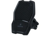Incarcator Auto Wireless Swissten WM1-AV3, Magnetic, Quick Charge, 10W, Negru