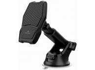 Incarcator Auto Wireless Swissten WM1-HK2, Magnetic, Quick Charge, 10W, Negru