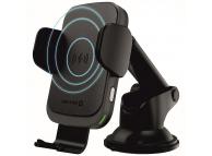 Incarcator Auto Wireless Swissten S-GRIP W2-HK3, Quick Charge, 15W, Negru
