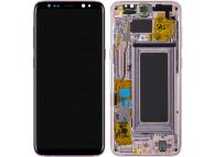 Display - Touchscreen Samsung Galaxy S8 G950, Cu Rama, Roz GH97-20473E
