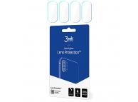 Folie Protectie Camera spate 3MK pentru Samsung Galaxy A20e, Set 4 buc, Plastic