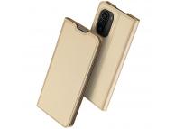 Husa Poliuretan DUX DUCIS Skin Pro pentru Xiaomi Redmi K40 / Xiaomi Redmi K40 Pro / Xiaomi Poco F3, Aurie