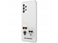 Husa Plastic - TPU Karl Lagerfeld pentru Samsung Galaxy A52 A525 / Samsung Galaxy A52 5G, Karl &Choupette, Transparenta KLHCA52CKTR