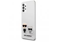 Husa Plastic - TPU Karl Lagerfeld pentru Samsung Galaxy A32 5G A326, Karl &Choupette, Transparenta KLHCA32CKTR