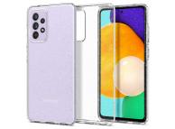 Husa TPU Spigen Liquid Crystal Glitter pentru Samsung Galaxy A52 A525 / Samsung Galaxy A52 5G, Transparenta ACS02317