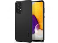 Husa Plastic Spigen Thin Fit pentru Samsung Galaxy A72 4G, Neagra ACS02323