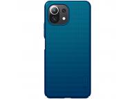 Husa Plastic Nillkin Super Frosted pentru Xiaomi Mi 11 Lite / Xiaomi Mi 11 Lite 5G, Albastra