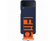 Husa TPU Samsung Galaxy Z Flip3 5G, Strap, Bleumarin EF-GF711TNEGWW
