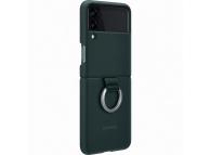 Husa TPU Samsung Galaxy Z Flip3 5G, Ring, Verde EF-PF711TGEGWW