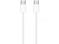 Cablu Date si Incarcare USB Type-C la USB Type-C Apple, 2 m, Alb MLL82ZM