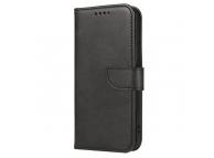 Husa Piele OEM Leather Flip Magnet pentru Samsung Galaxy A52 A525 / Samsung Galaxy A52 5G, Neagra