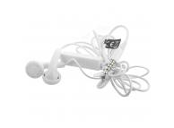 Handsfree Casti EarBuds OEM, Universal, Cu microfon, 3.5 mm, Alb