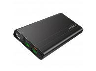 Baterie Externa Powerbank Borofone Velocity BT34, 10000 mA, Power Delivery (PD) - Quick Charge 3.0, Afisaj, Neagra