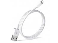 Cablu Date si Incarcare USB la Lightning EnviroBest EC2, 1 m, Alb
