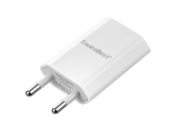 Incarcator Retea USB EnviroBest EN01, 1A, 1 X USB, Alb