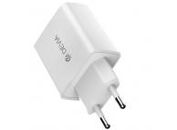Incarcator Retea USB DEVIA Rocket, Quick Charge, 20W, 1 X USB Tip-C, Alb