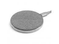 Incarcator Retea Wireless Nevox, Quick Charge, 15W, Argintiu WC-1926