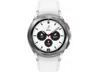 Ceas Smartwatch Samsung Galaxy Watch4 Classic, 42mm, BT, Argintiu SM-R880NZSAEUE