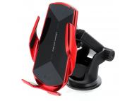 Incarcator Auto Wireless OEM HS3, Quick Charge, 15W, IR, Rosu