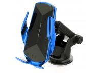 Incarcator Auto Wireless OEM HS3, Quick Charge, 15W, IR, Albastru