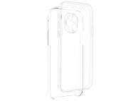 Husa TPU OEM Full Cover pentru Xiaomi Redmi Note 10 Pro, Transparenta