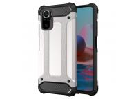 Husa Plastic - TPU OEM Tough Armor pentru Xiaomi Redmi Note 10 Pro, Argintie
