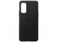 Husa TPU OnePlus Nord 2 5G, Sandstone Bumper, Neagra 5431100253