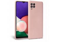 Husa TPU Tech-Protect Icon pentru Samsung Galaxy A22 LTE, Roz