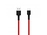 Cablu Date si Incarcare USB la USB Type-C Xiaomi, 1 m, Rosu  SJV4110GL