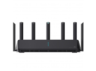 Router Wireless Xiaomi AIoT AX3600, Wi-Fi 6, OFDMA + MU-MIMO, 6 antene Wi-Fi, Negru DVB4251GL