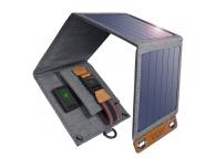 Incarcator Solar Choetech SC004, 14W, USB (2.4A), 4 panouri solare pliabile, Gri