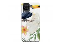 Husa TPU OEM pentru Samsung Galaxy A12 A125, TOUCAN AND LEAVES, Multicolor