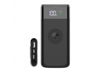 Baterie Externa Powerbank Dudao K13Pro, 10000 mA, Power Delivery (PD) - Quick Charge 3.0 - Fast Wireless, Neagra