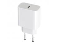 Incarcator Retea USB MaXlife MXTC-05, Quick Charge, 20W, 1 X USB Tip-C, Alb