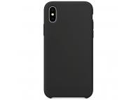 Husa TPU OEM Pure Silicone pentru Xiaomi Redmi Note 10 5G / Xiaomi Poco M3 Pro 5G, Neagra