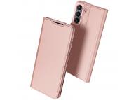 Husa Poliuretan DUX DUCIS Skin Pro pentru Samsung Galaxy S21 FE 5G, Roz Aurie