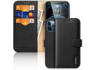 Husa Piele DUX DUCIS Hivo pentru Apple iPhone 12 Pro Max, Neagra