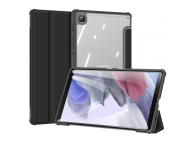 Husa Tableta Piele - Poliuretan DUX DUCIS Toby pentru Samsung Galaxy Tab A7 Lite, Neagra
