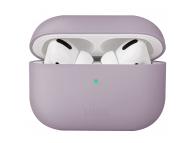 Husa Protectie Casti UNIQ Lino Hybrid pentru Apple AirPods Pro, Lila