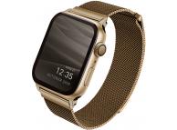 Curea Ceas UNIQ Dante pentru Apple Watch Series 3 42 mm / Apple Watch Series 4 Aluminum / Apple Watch Edition Series 5, Aurie