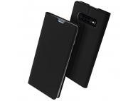 Husa Piele DUX DUCIS Skin Pro pentru Samsung Galaxy S10+ G975, Neagra