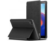 Husa Tableta Piele INFILAND SMART STAND pentru Samsung Galaxy Tab A7 Lite T220, Neagra