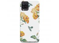 Husa TPU CaseGadget FLOWERS pentru Samsung Galaxy A12, Multicolora