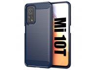 Husa TPU OEM Carbon pentru Xiaomi Mi 10T Pro 5G / Xiaomi Mi 10T 5G, Bleumarin