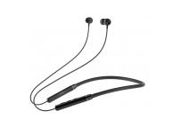 Casti Bluetooth XO Design BS19, In-Ear, Necklace, BT 5.0, Negre