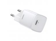 Incarcator Retea USB Remax Crown RP-U75, Quick Charge, 20W, 1 X USB Tip-C, Alb